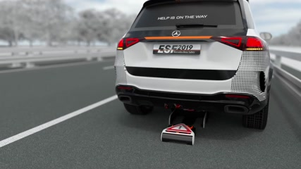 Mercedes-Benz ESF 2019 - Securing an accident scene