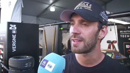 Formula E in New York City - Jean Eric Vergne - Reaction