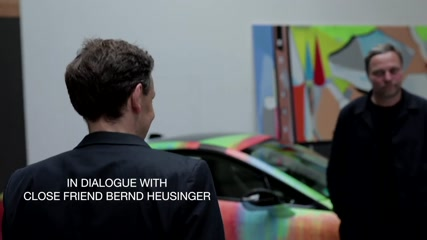The BMW i8 as an automobile sculpture - An artistic experiment by Thomas Scheibitz