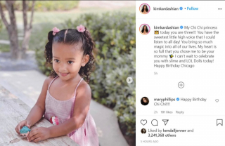 Chicago West turns 3! Kim Kardashian West and family pay tribute to the 'Chi Chi princess'