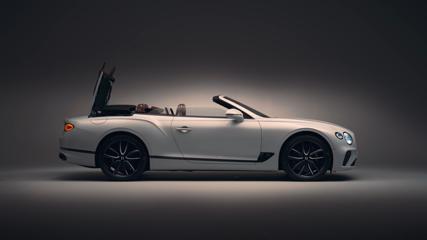 The new Bentley Continental GT Convertible Design in Studio