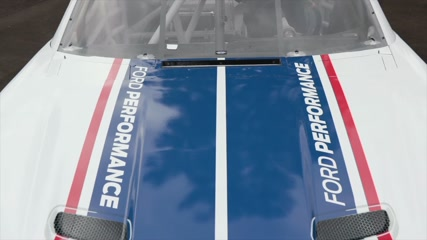 2020 NASCAR Xfinity Series Mustang Design
