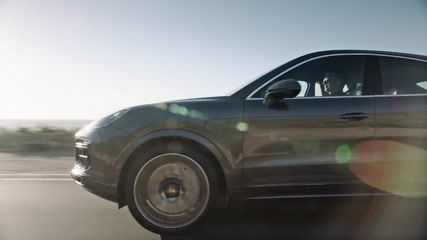 Porsche Cayenne Turbo Coupé Driving Video