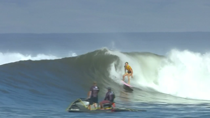 Gilmore equals record with seventh world surfing title