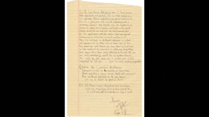 Madonna, Tupac breakup letter hits the auction block