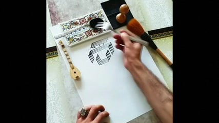 Fork becomes art tool in hands of Turkish creator
