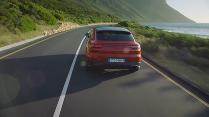 Porsche Cayenne Coupé Driving Video