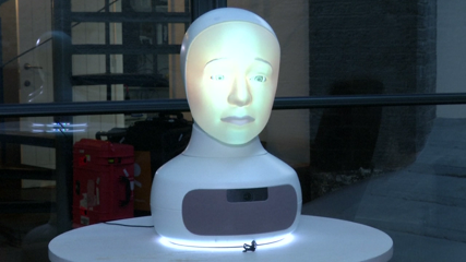 Canny robot Furhat aims for the human touch