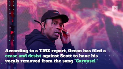 Frank Ocean Wants Off Travis Scott's Album 'Astroworld'