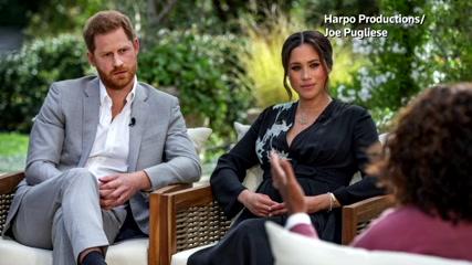 Harry, Meghan interview score big U.S. ratings