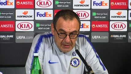 'My future is Wednesday', says Chelsea manager Sarri