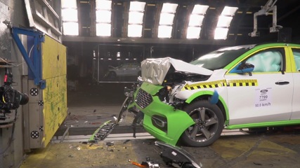 Ford Focus Crash Test 2018