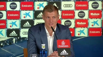 I want to end my career at Real, says Kroos