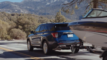 All-New Ford Explorer Hybrid Preview