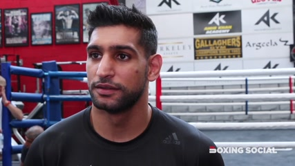 """""""PACQUIAO FIGHT SIGNED FOR NOVEMBER 8TH IN SAUDI ARABIA - WIN OR LOSE AGAINST THURMAN!"""" - AMIR KHAN"""