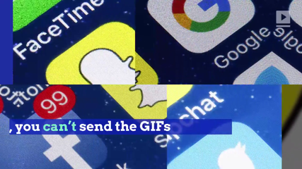 Snapchat Is Getting Musical GIFs