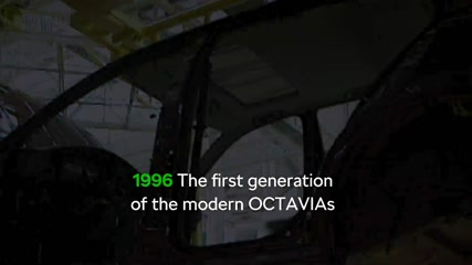 Skoda Octavia 60 years