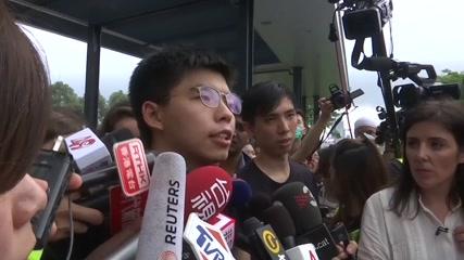 Freed activist Wong says G20 should discuss Hong Kong extradition bill