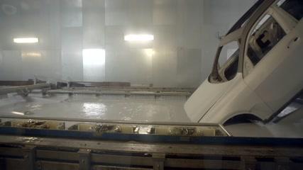 Production of the BMW X7 Paint Shop