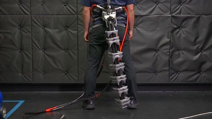 Japanese researchers build robotic tail to keep elderly upright